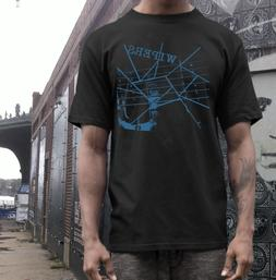 the wipers band t shirt  punk