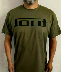 TOOL LOGO METAL BAND MEN's GREEN MILITARY T SHIRT SIZES