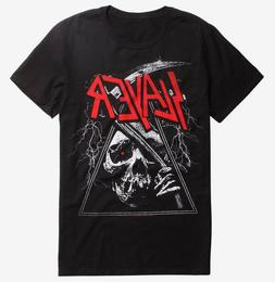 Slayer TRIANGLE REAPER T-Shirt Heavy Metal Band NEW Licensed