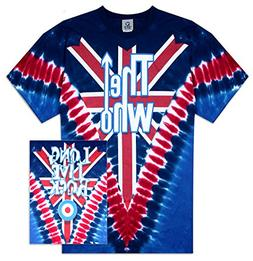 Gear One The Who Long Live Rock T-Shirt Union Jack Medium
